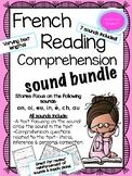 French Reading Comprehension Sound Bundle