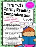French Reading + Comprehension Spring Bundle