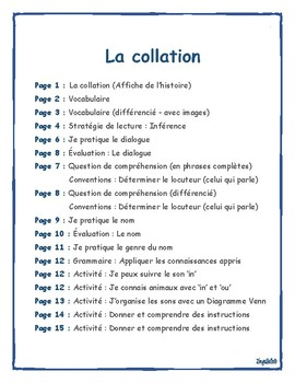 French Reading: Comprehension, and Grammar / Lecture: Stratégies et grammaire