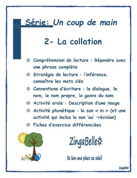 2 French Reading Comprehension, and Grammar / Lecture: Stratégies et grammaire