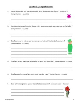 French Reading Program (10 Stories + Activities)