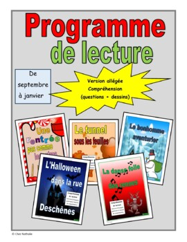 French Reading Program (September - January)