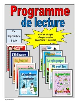 French Reading Program (September - June)