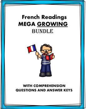 French Reading MEGA Bundle: 48+ Lectures en Français @45% off + GROWING Bundle!
