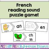 French Reading Sound Puzzle Game