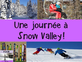 "French: Reading: Hiver, ""Une journée de ski!"" lecture, Sports d'hiver, PRIMARY"