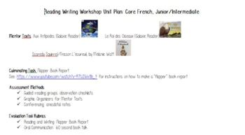 French Reading & Writing Workshop