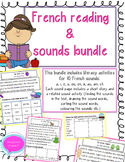 French Sound Bundle- le son a, e, i, ou, u, on, au, é, ain, ch