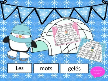French Reading and Vocabulary-Clothing, Colours, Numbers, Family etc.