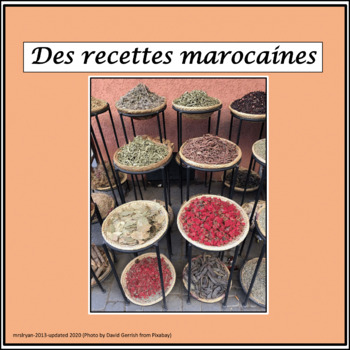 French – Recipes of Morocco – Food Festival