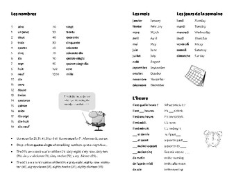 French Reference Pages