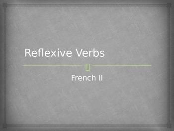 French Reflexive Pronouns Powerpoint