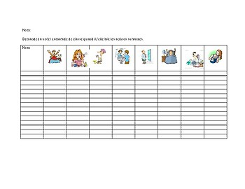 French Reflexive Speaking Practice - All in target language