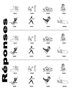 French Reflexive Verb Speaking Activities (2 complete activities)