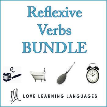 French Reflexive Verbs Bundle