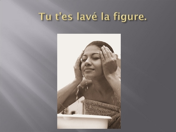 French Reflexive Verbs Conjugation Practice Le Passe Compose