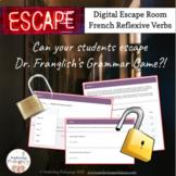 French Reflexive Verbs - Digital Escape Room