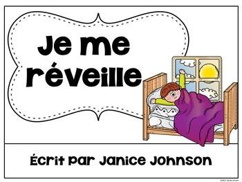 French Reflexive Verbs Reader & Build-A-Book ~ les verbes réfléchis