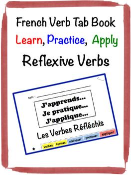 French Reflexive Verbs Tab Book
