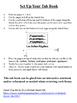 French Regular Verbs (ER, IR, RE) Tab Book