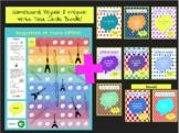 French Present Tense Regular + Irregular Verbs Task Cards