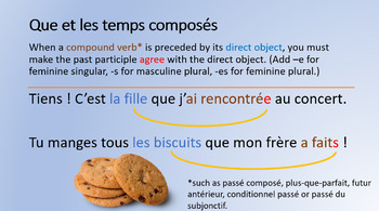 French Relative Pronouns Powerpoint - English explanations - Pronoms Relatifs