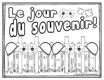 French Remembrance Day Activity