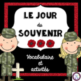 French Remembrance Day Activity Pack (Le jour du Souvenir)