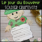 FRENCH AND ENGLISH REMEMBRANCE DAY SOLDIER CRAFTIVITY (LE