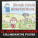 French Remembrance Day French Collaborative Poster JOUR DU SOUVENIR
