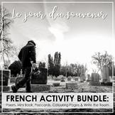Jour du Souvenir: French Activity Bundle