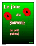 French - Remembrance Day Quick Writing Activity