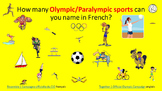 French  Resources. Rio 2016 Olympic/ Paralympic Games. Les Jeux Olympiques.