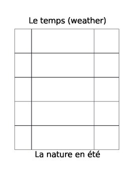 French Review Mini Book for Young Learners