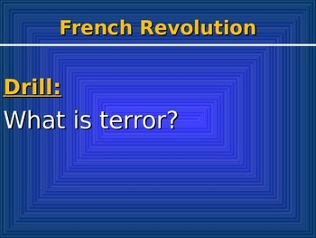 French Revolution 3