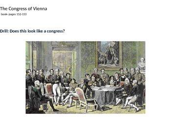 French Revolution 7- Congress of Vienna 2