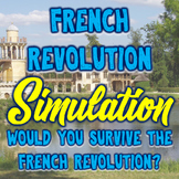 French Revolution Active Learning Simulation