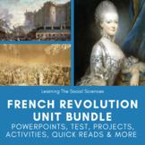 French Revolution & Age of Napoleon Unit: PPT, Test, Activ
