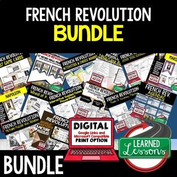 French Revolution BUNDLE (World History Bundle)