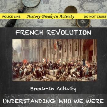 French Revolution Break In Activity