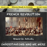 French Revolution Digital Break Out DBQ Activity