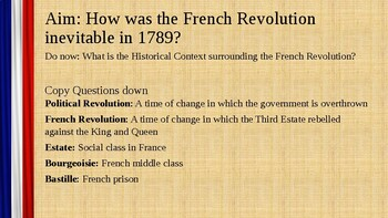 French Revolution Cause and Effect