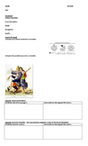 French Revolution Causes- Worksheet Only with Spanish Translation