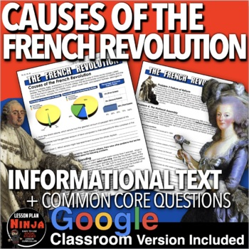 French Revolution Causes of the French Revolution Informat