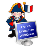 """French Revolution WebQuest """"Choice Board"""" Style"""