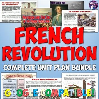 French Revolution Complete Unit Bundle