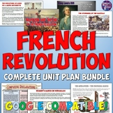 French Revolution Complete Unit Bundle