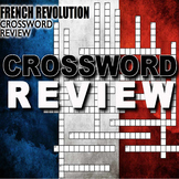 French Revolution Crossword Puzzle Review