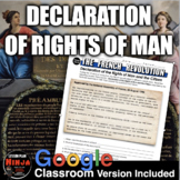 French Revolution Declaration of Rights of Man Primary Source Analysis