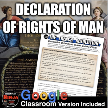 French Revolution Declaration of Rights of Man Primary Sou